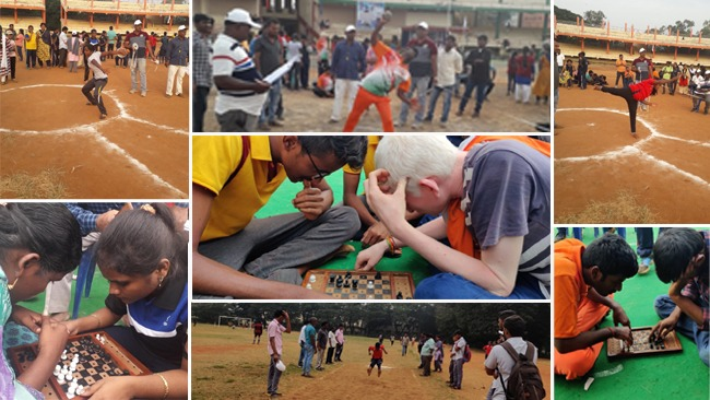 District Level Sports Games Meet on World Disabled Day